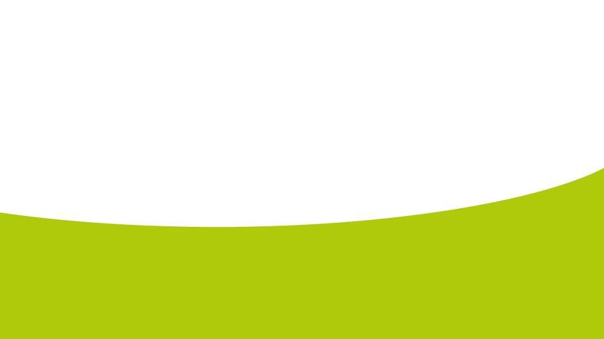 Grüner Bogen in Bühne