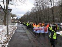 Warnstreik Tarifrunde ÖD 20.03.2018 Detmold