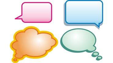 Gespräch Sprechblase Diskussion Verhandlung