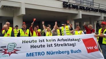 Streik der Beschäftigten im fränkischen Großhandel (06.06.19)