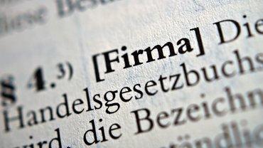Firma Unternehmen Gesetz Recht