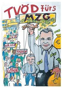 Plakat Nr. 2 TvöD MZG