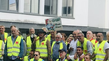 Streik bei MM Graphia