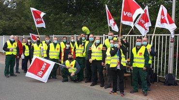 Streik Logistik 21.09.2021