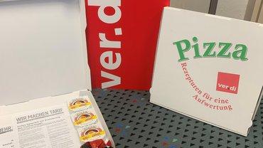 Pizza - Rezepturen für die SuE-Tarifrunde